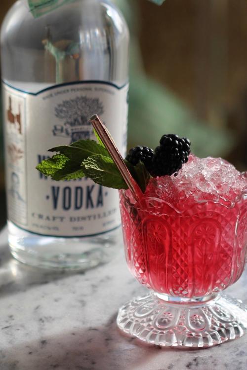 Wheatley Vodka Blackberry Mint Julep