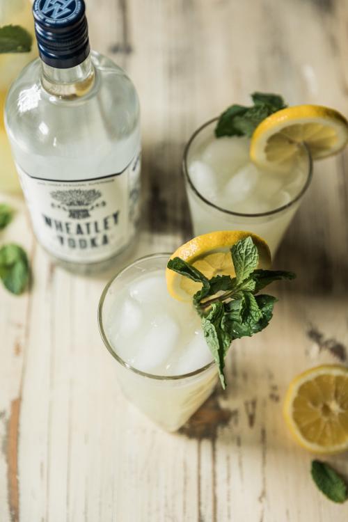 Wheatley Vodka Mint Lemonade