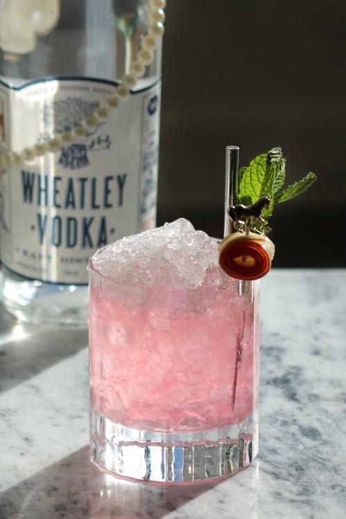 Wheatley Vodka Rhubarb Mint Julep
